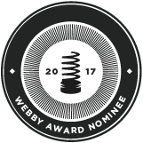 Webby Awards Nominee 2017